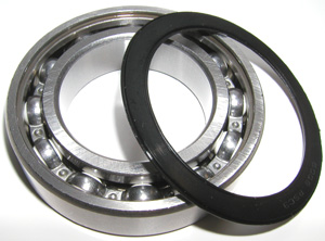 6007-2RS Bearing Hybrid Ceramic Sealed 35x62x14:vxb:Ball Bearings