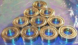 10 Bearing 6304ZZ 20x52x15 Shielded:vxb:Ball Bearing
