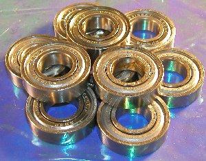 10 Bearing 6304ZZ 20x52x15 Shielded:vxb:Ball Bearings