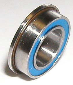 Flanged Bearing F6700-2RS 10mm x 15mm x 4mm :Sealed:vxb:Ball Bearing
